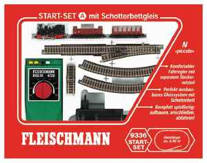 train miniature Start-set  (échelle N) Fleischmann Quirao idées cadeaux