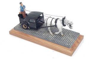 miniature de voiture Citroen Traction ... 1944 Heco Miniatures Quirao idées cadeaux