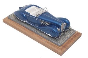 miniature de voiture Delage D8-120 Figoni et Falaschi Heco Miniatures Quirao idées cadeaux