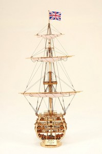 maquette de bateau, voilier, runabout HMS Victory Coupe - 73 cm Historic Marine Quirao idées cadeaux