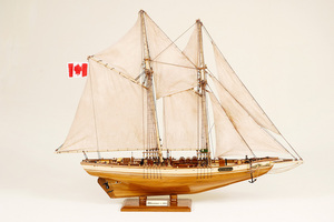 ship, sailboat, runabout model Blue Nose II Historic Marine