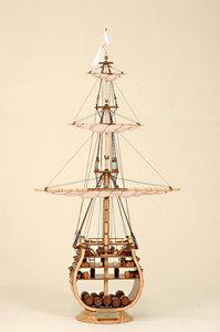 maquette de bateau, voilier, runabout Soleil Royal Coupe Historic Marine Quirao idées cadeaux