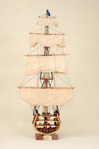 maquette de bateau, voilier, runabout USS Constitution Coupe - 135 cm Historic Marine Quirao idées cadeaux