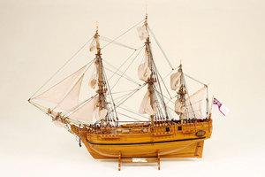 maquette de bateau, voilier, runabout HMS Bounty - 53 cm Historic Marine Quirao idées cadeaux