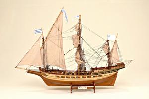 maquette de bateau, voilier, runabout Misticque Historic Marine Quirao idées cadeaux