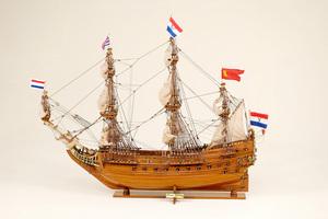 maquette de bateau, voilier, runabout Prins Wilhems Historic Marine Quirao idées cadeaux