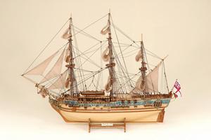 maquette de bateau, voilier, runabout Royal Caroline Historic Marine Quirao idées cadeaux