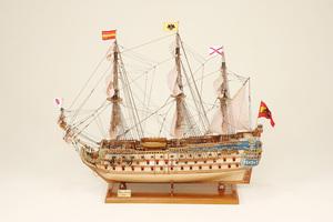 maquette de bateau, voilier, runabout San Felipe Historic Marine Quirao idées cadeaux