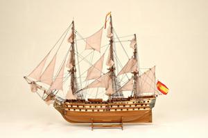 maquette de bateau, voilier, runabout San Juan Historic Marine Quirao idées cadeaux