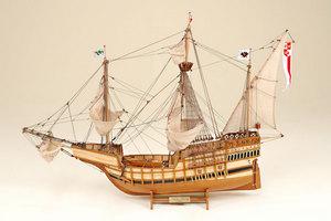 maquette de bateau, voilier, runabout Santa Maria Historic Marine Quirao idées cadeaux