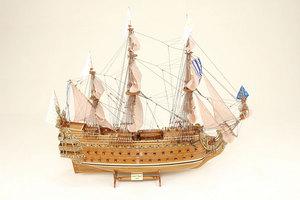 maquette de bateau, voilier, runabout Soleil Royal  - 104 cm Historic Marine Quirao idées cadeaux