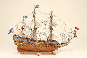maquette de bateau, voilier, runabout Wasa - 96 cm Historic Marine Quirao idées cadeaux