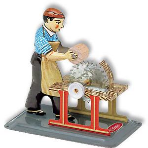 machine à vapeur M 73 - Scieur de bois Wilesco Quirao idées cadeaux