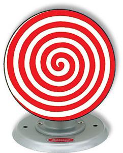machine à vapeur M 69/1 - Disque psychédélique rouge / blanc Wilesco Quirao idées cadeaux