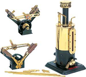 machine à vapeur D49 - Moteur à vapeur pour bateaux à 2 cylindres Wilesco Quirao idées cadeaux