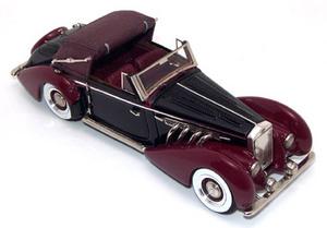 miniature de voiture Delage D8-120 Cabriolet / Convertible 1939 Miniatures du Chateau Quirao idées cadeaux