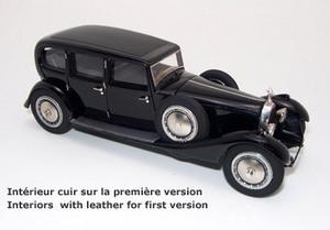 miniature de voiture Bugatti Royale Park Ward - 1ère version Miniatures du Chateau Quirao idées cadeaux