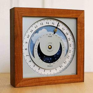 horloge Horloge du soleil - Nomade Teck Soltime Quirao idées cadeaux