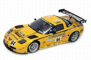miniature de voiture Corvette C5R N° 62 - Le Mans 2004 Provence Miniatures Quirao idées cadeaux