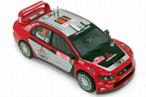 miniature de voiture Mitsubishi Lancer Wrc N° 10 Mc 2005 Provence Miniatures Quirao idées cadeaux