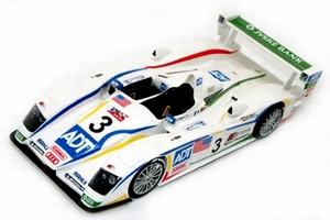 miniature de voiture Audi R8 N° 23 - Le Mans 2005 Provence Miniatures Quirao idées cadeaux