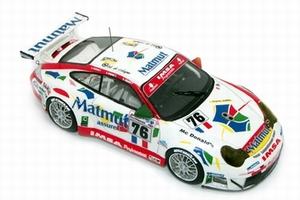 miniature de voiture Porsche 911 GT3 RSR R. Narac N° 76 LM 2005 Provence Miniatures Quirao idées cadeaux