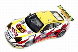 miniature de voiture Porsche 911 RSR N° 90 White Lightning LM 2005 Provence Miniatures Quirao idées cadeaux