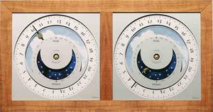 horloge Horloge du soleil - Voyage en Duo Teck Soltime Quirao idées cadeaux