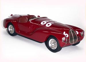 miniature de voiture Auto Avio Costruzioni Ferrari 815 - Ascari #66 MG Model Plus Quirao idées cadeaux