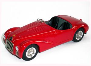 miniature de voiture Ferrari 125 S road car 1947 MG Model Plus Quirao idées cadeaux