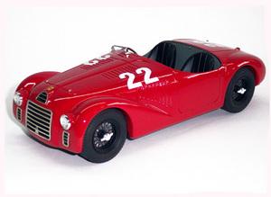 miniature de voiture Ferrari 125 S Vercelli 1947 #22 MG Model Plus Quirao idées cadeaux