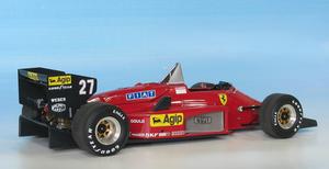 miniature de voiture Ferrari 156/85 GP Canada 85 (1:12e) MG Model Plus Quirao idées cadeaux