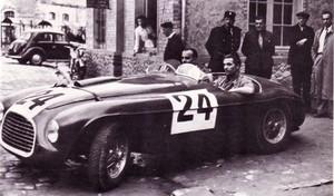 miniature de voiture Ferrari 195 S Mille Miglia 1950 (KIT) MG Model Plus Quirao idées cadeaux