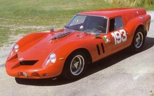 miniature de voiture Ferrari 250 GT Breadvan (KIT) #8 Brand Hatch 1962 MG Model Plus Quirao idées cadeaux