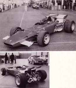 miniature de voiture Ferrari 312 B2 GP Grande Bretagne 1971 (KIT) MG Model Plus Quirao idées cadeaux