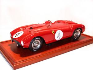miniature de voiture Ferrari 375PLUS Le Mans 54 (1:12e) (Gonzalez - Trintignant) MG Model Plus Quirao idées cadeaux