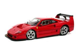 miniature de voiture Ferrari F40 LM red Road car MG Model Plus Quirao idées cadeaux