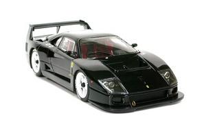 miniature de voiture Ferrari F40 LM black Road car MG Model Plus Quirao idées cadeaux