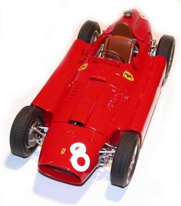 miniature de voiture Lancia D.50 F.1 GP Belgique 56 (1:12e) MG Model Plus Quirao idées cadeaux
