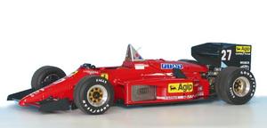 miniature de voiture Ferrari 156/85 GP Canada 85 Alboreto (KIT au 1/12e) MG Model Plus Quirao idées cadeaux
