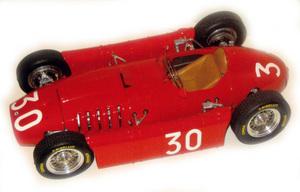 miniature de voiture Lancia D50 F.1 GP Monaco 55 (KIT au 1/12e) MG Model Plus Quirao idées cadeaux