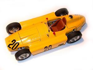 miniature de voiture Lancia D50 GP Belgique 1956 #20 Pilette MG Model Plus Quirao idées cadeaux