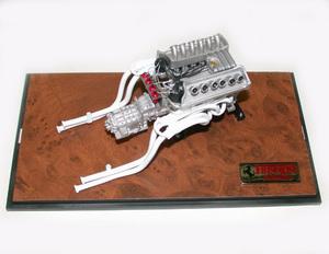 miniature de voiture Moteur V12 60 4 litres de la Ferrari 330 P4 (1967) MG Model Plus Quirao idées cadeaux