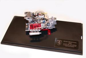 miniature de voiture Moteur de V6 120° 1.5 lt. turbo  - Ferrari 126 TURBO KKK MG Model Plus Quirao idées cadeaux