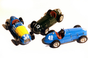 miniature de voiture Ferrari 166 F.2 GP 1949 #34 Fangio MG Model Plus Quirao idées cadeaux