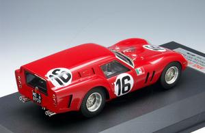 miniature de voiture Ferrari 250 GT Breadvan  (KIT) #16 24 h du Mans 1962 MG Model Plus Quirao idées cadeaux