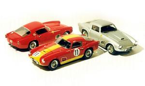 miniature de voiture Ferrari 250 GT 24h du Mans 1959 #11 (KIT) MG Model Plus Quirao idées cadeaux