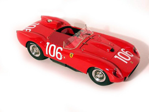 miniature de voiture Ferrari 250 TR/58 Targa Florio 58 (KIT au 1/12e) MG Model Plus Quirao idées cadeaux