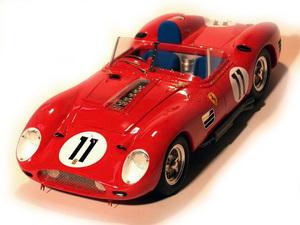 miniature de voiture Ferrari 250 TR/60 Le Mans 60 (KIT au 1/12e) MG Model Plus Quirao idées cadeaux