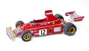 miniature de voiture Ferrari 312 B3 F.1 GP Pays-Bas 74 (1:12e) MG Model Plus Quirao idées cadeaux